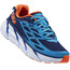 Hoka One One M's Clifton 3 Shoes Medieval Blue/Red Orange